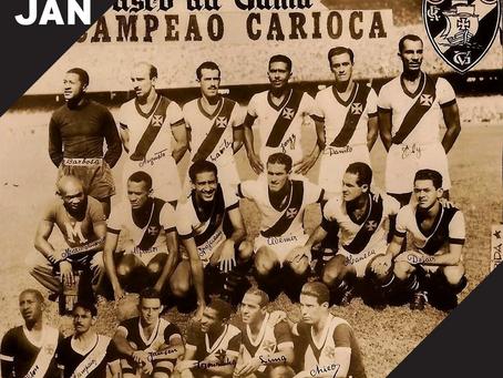 28 de Janeiro é dia de Vasco.