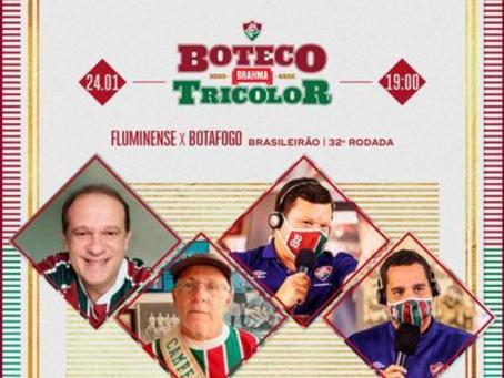 Hoje é dia de Boteco Tricolor