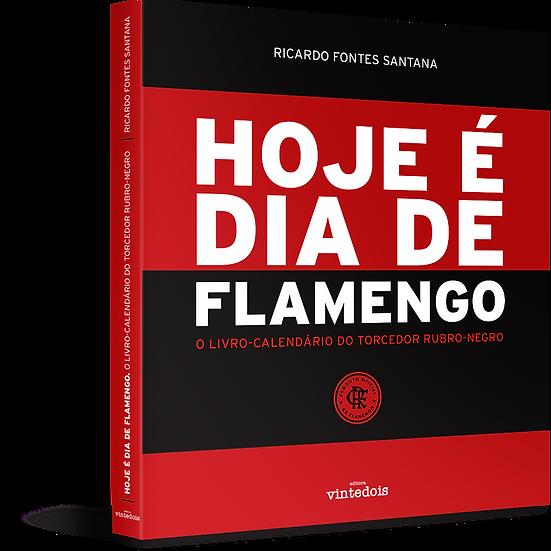 Livro Hoje é dia de Flamengo