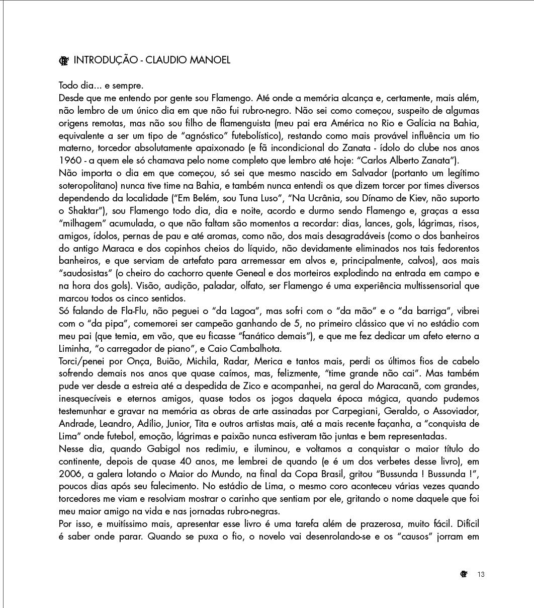 Introdução: Claudio Manoel
