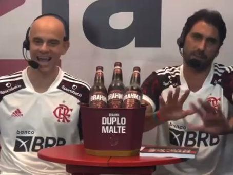 Hoje é dia de Flamengo na Flatv