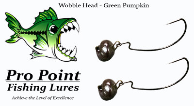 Green Pumpkin Wobble Head