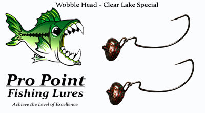 Clear Lake Special Wobble Head