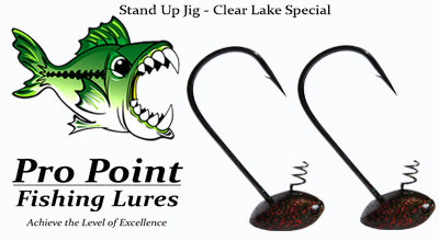 Clear Lake Special Stand Up Jig