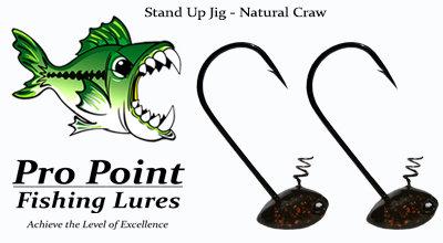Natural Craw Stand Up Jig
