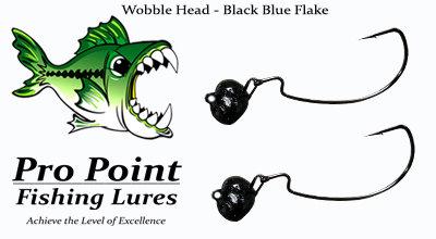 Black Blue Wobble Head
