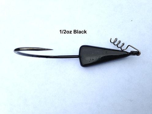 Black Sled Head Jig
