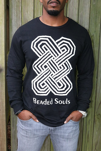 Beaded Souls Black T