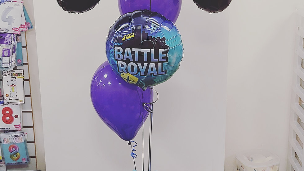Balloon Display - Supershape foil with 1 foil and 2 latex
