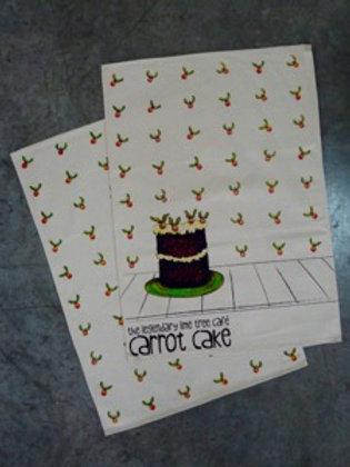 Berry & Cake Flour Sack Tea Towel (set of 2)