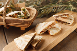 Canapes and corporate example Arabic Sandwich