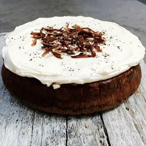Date & Espresso Baked Cheesecake