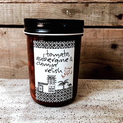 Tomato, Aubergine & Cumin Relish
