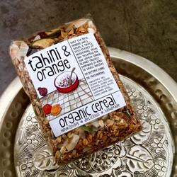 tahini & orange organic cereal