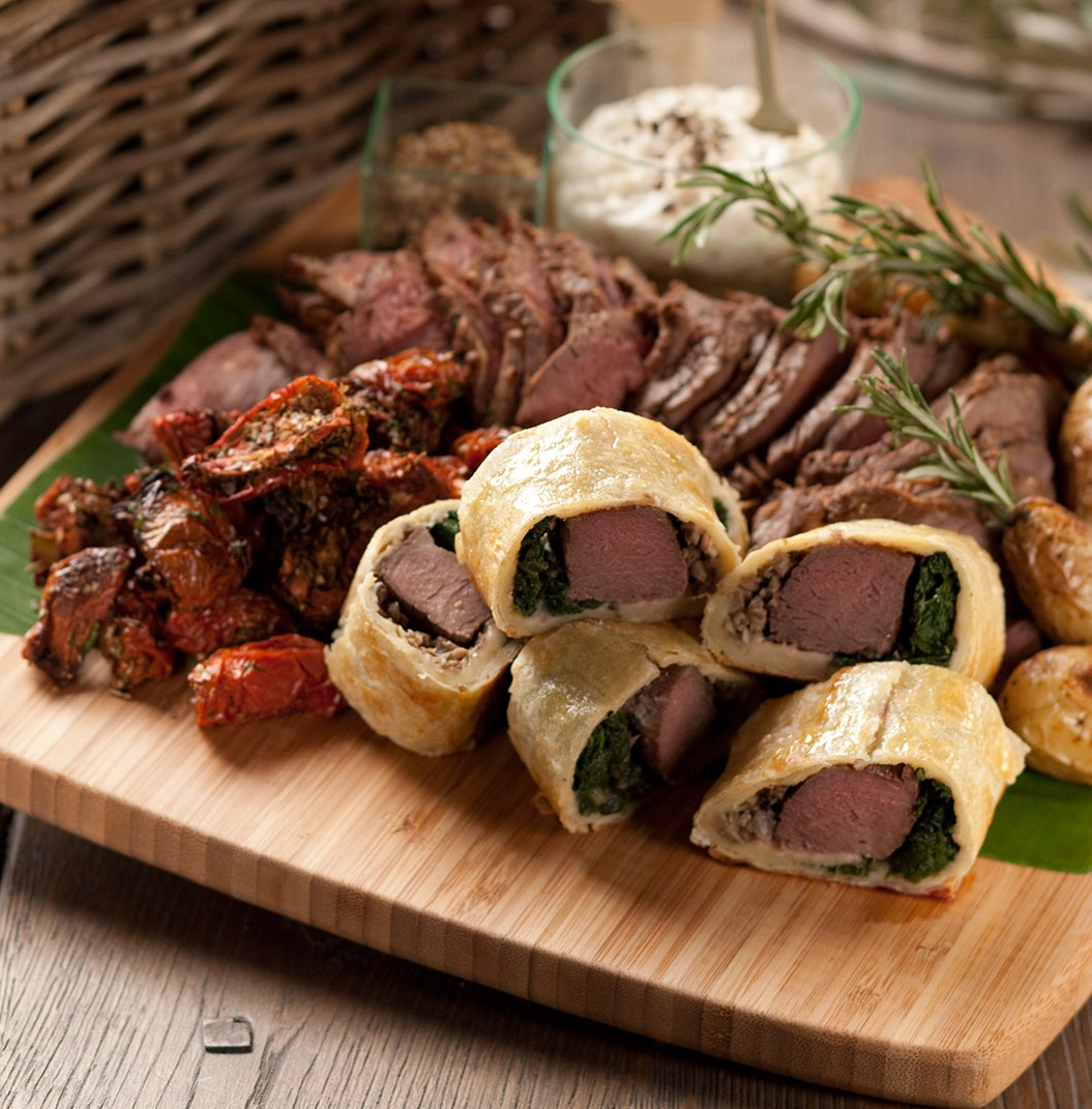NZ Roasted Beef Platter