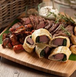 NZ Roasted Beef Platter