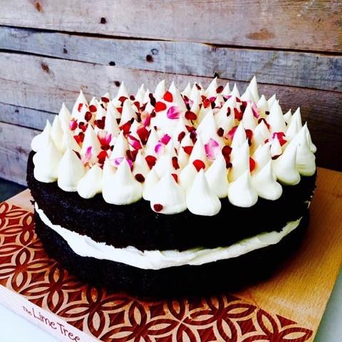 Choc Tahini Cake
