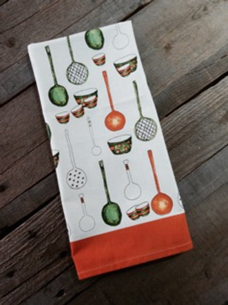 Spoon Design Lime Tree Tea Towel (set of 2)