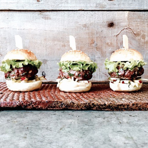 New Zealand Lamb Burger