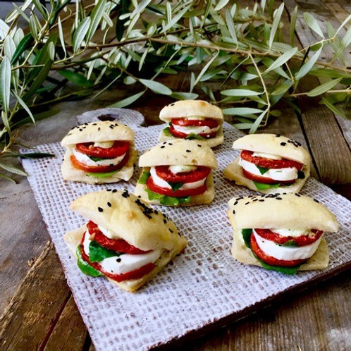 Oven Roasted Tomato & Fresh Mozzarella