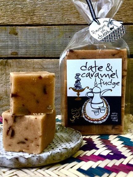 Date & Caramel Fudge