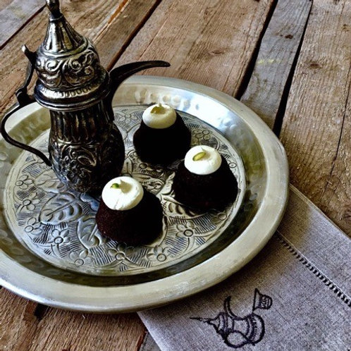 Mini Spiced Chocolate Cake with Tahini & Honey
