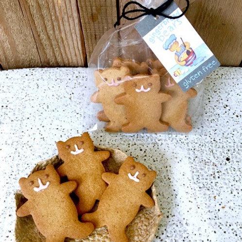 Gluten Free - Iced Ginger Bears