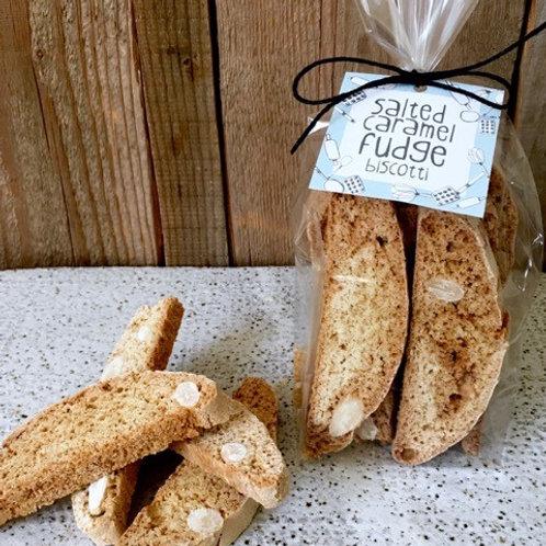 Gluten Free - Salted Caramel Fudge Biscotti