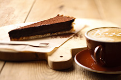 Coffee and tart