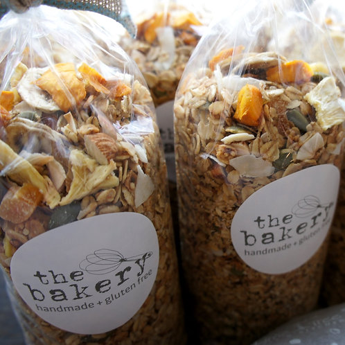 Gluten Free - Tropical Muesli with Organic Seeds & Grains