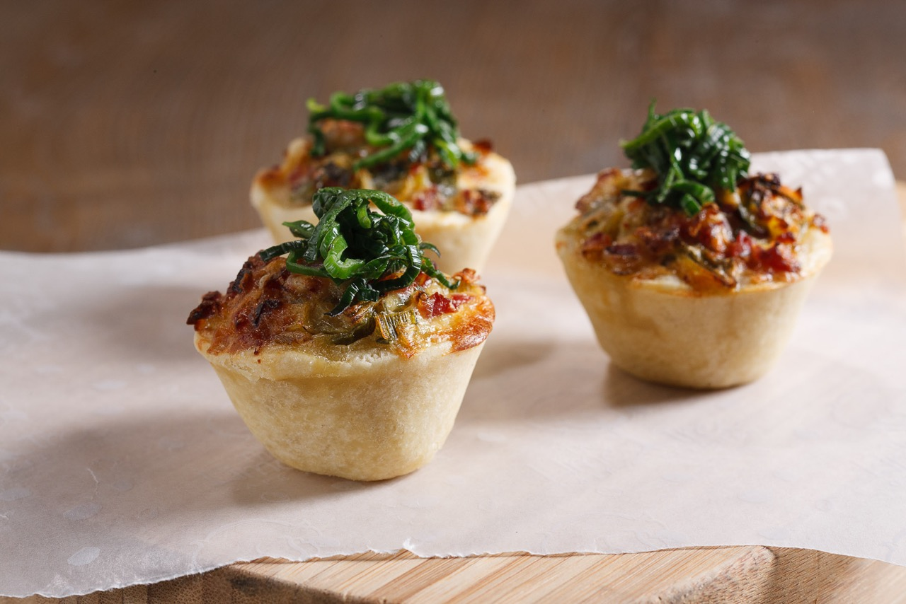 Corporate - mini quiche