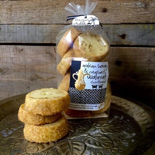 Arabian Honey & Crushed Walnut Shortbread