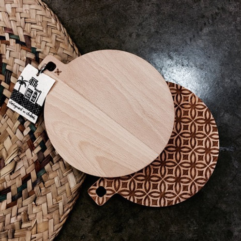 ME Natural Birchwood Board (small round)
