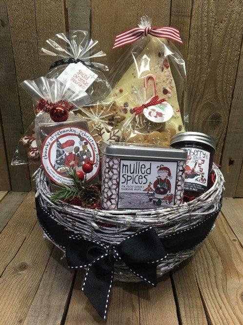The Christmas Celebration Basket