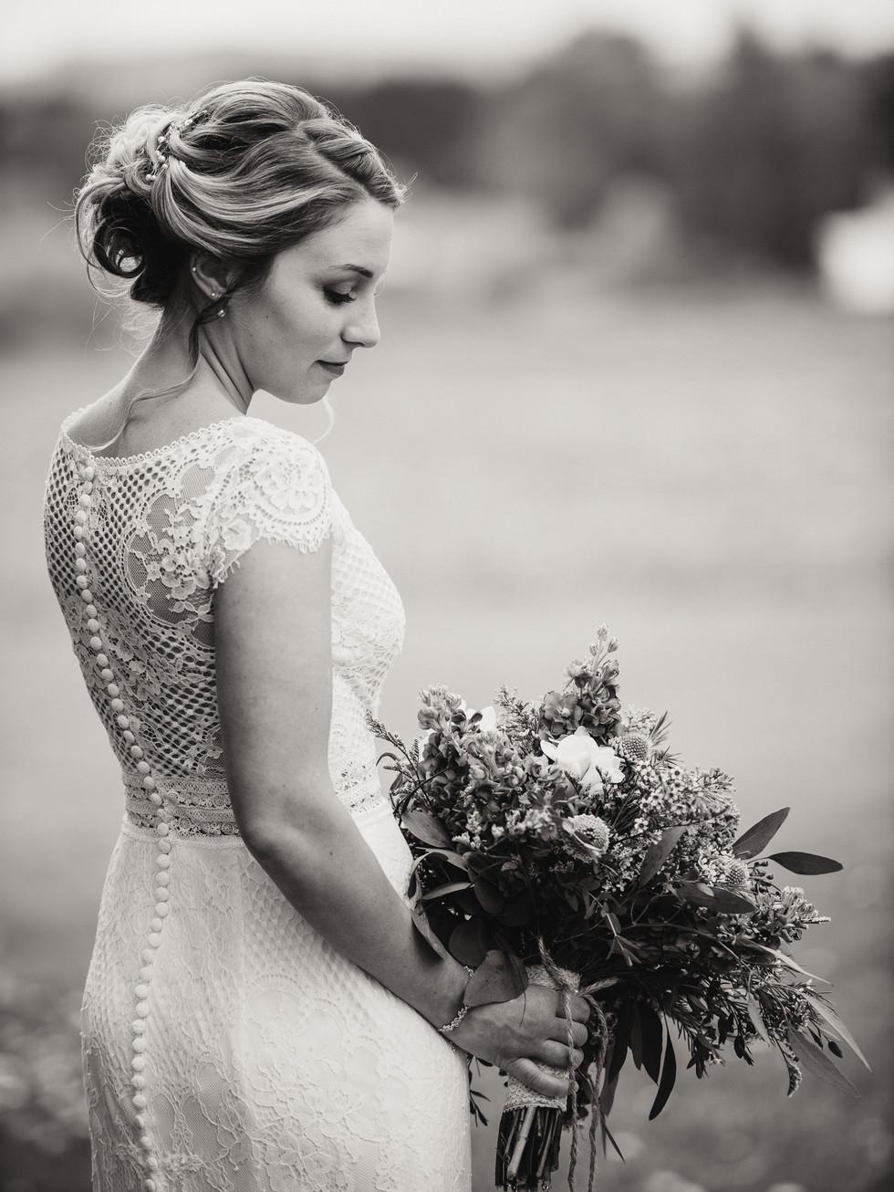 wedding bridal portrait photography rochester ny
