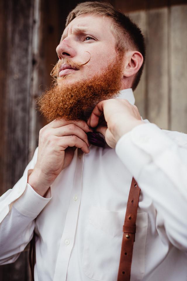 Rochester NY wedding photography - groom