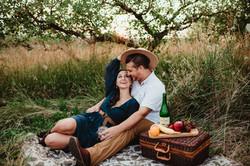 Lifestyle Boho Couples Photography Rochester, NY