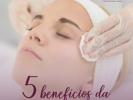 5 Benefícios da Limpeza de Pele