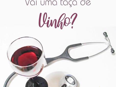 Uma taça de vinho por dia e muita saúde!!