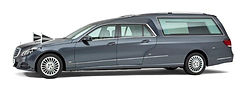 Mercedes familie-rouwauto (tenorietgrijs