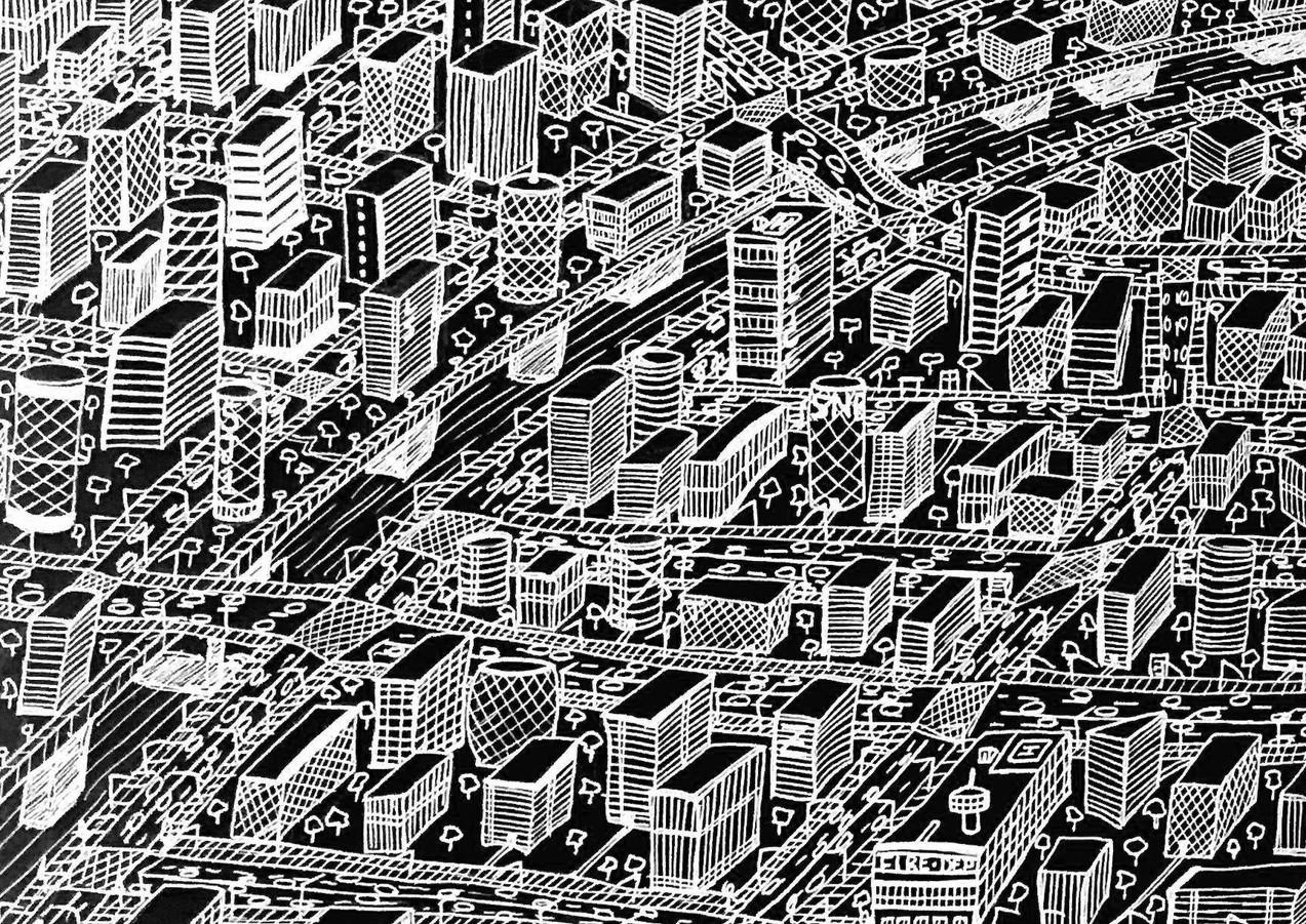 Black & White City
