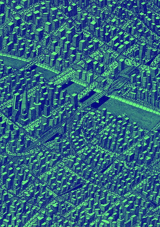 Green & Blue City