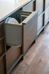 Intergrated Dish Drawer