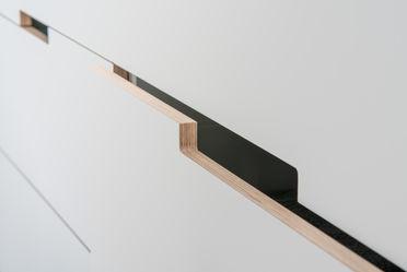 Wardrobe Drawer Handle Closeup
