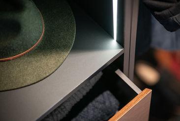 Wardrobe Drawer Closeup