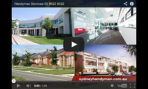 Building Repairs Sydney YouTube, carpentry repairs, handyman sydney, plumbing repairs, office repairs, moving desks, facility maintenance