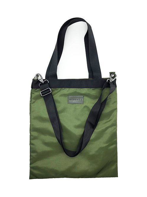TAKE-OUT BAGS tote olive