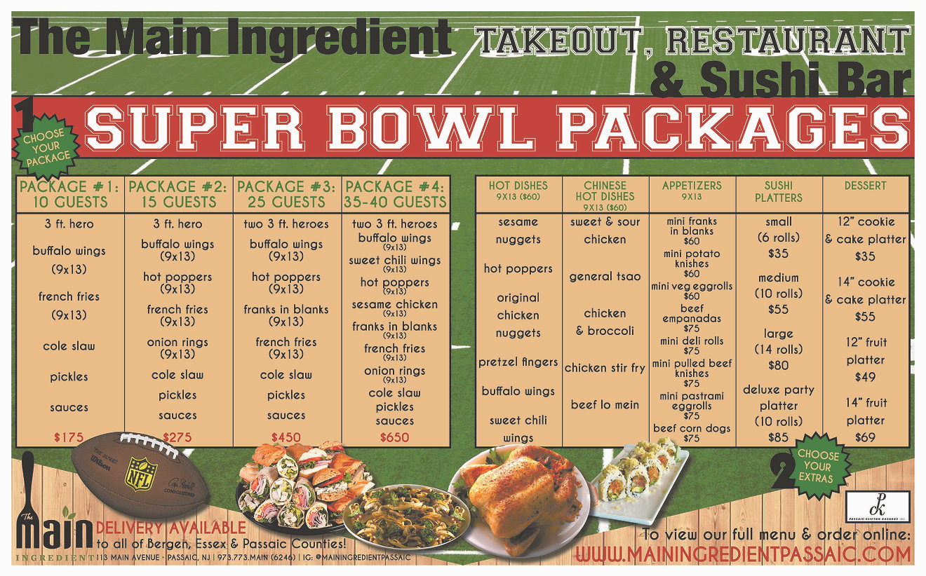 The Main Ingredient Superbowl Ad January