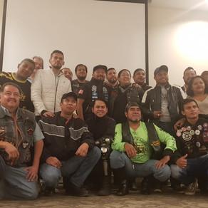 CONVIVENCIA ASIM CON MEDIOS Y MOTOCLUBES