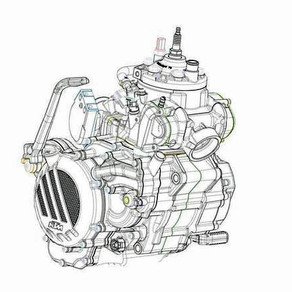 KTM anuncia el primer motor inyectado de dos tiempos